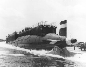 Launch of the USS Thresher