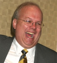 Rove's laughing now.