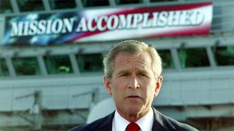 Bush Logic: Trust me. I know what I'm doing