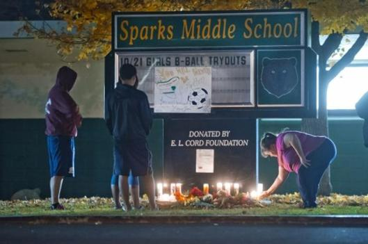 Sparks Middle School - A tragedy made worse