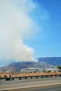 12:04 PM Hunter Falls fire from Reno