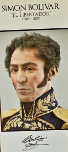 Simon Bolivar, a key figure in forcing Spain to give up the Americas